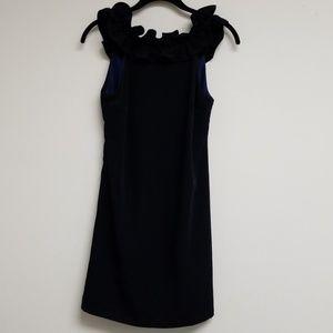 NWT Anthropologie Petites Navy A-line Dress XXSP